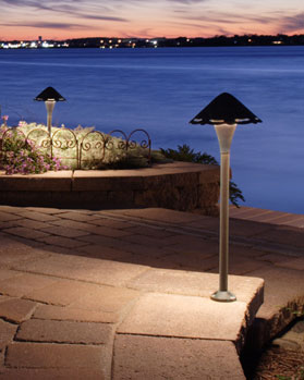 Sarasota landscape lighting